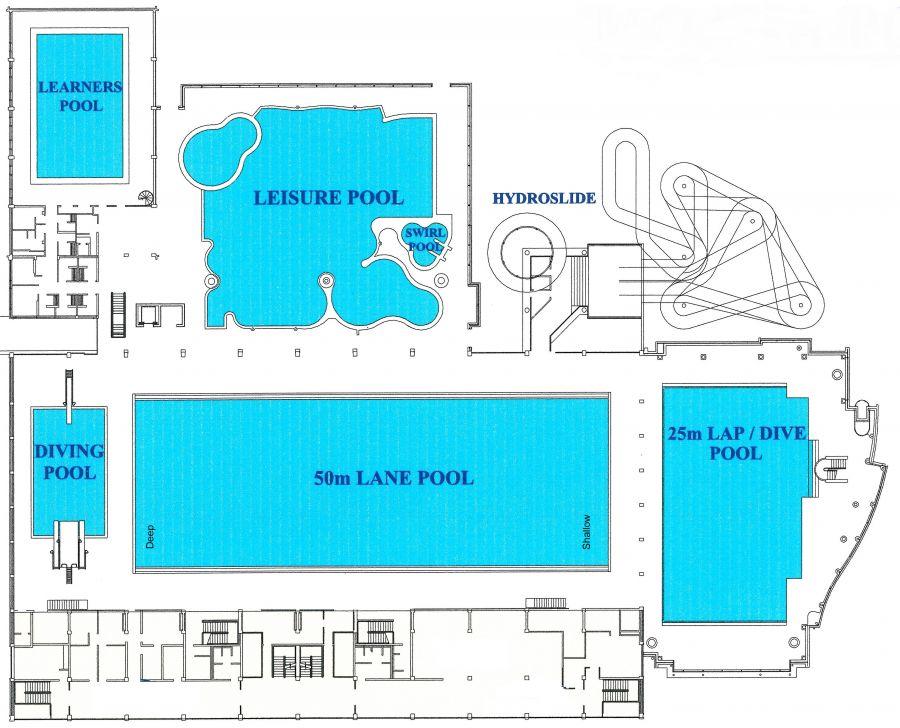 Moana Pool plan