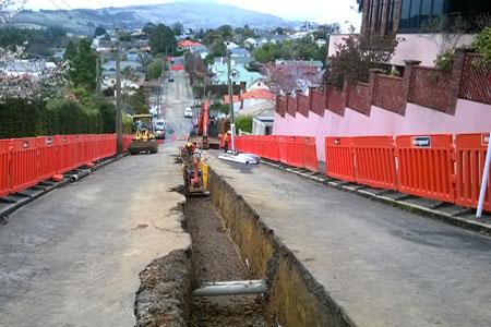 Kaikorai Valley pipeline renewals