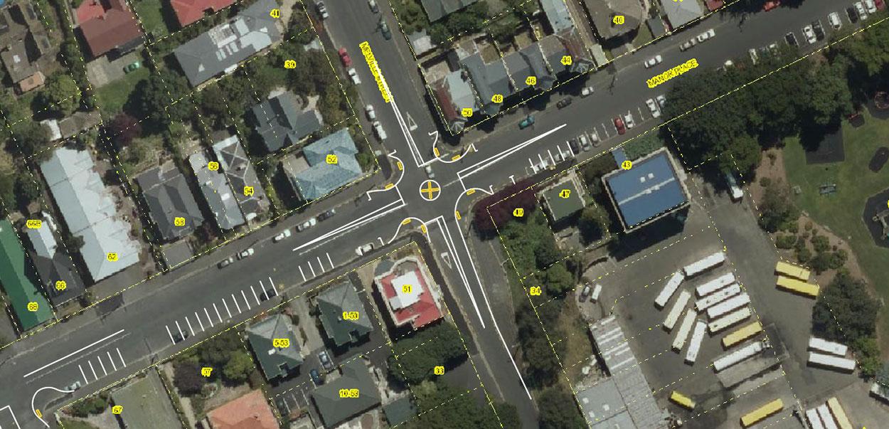 Manor Place improvements map - large