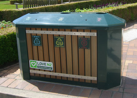 LoveNZ Recycling station