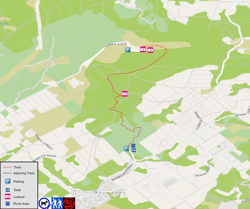 MtCargill Map