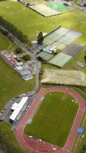 Sportsfields, schools and tertiary education facilities