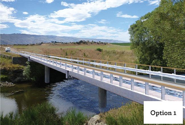 Sutton bridge project - Option 1