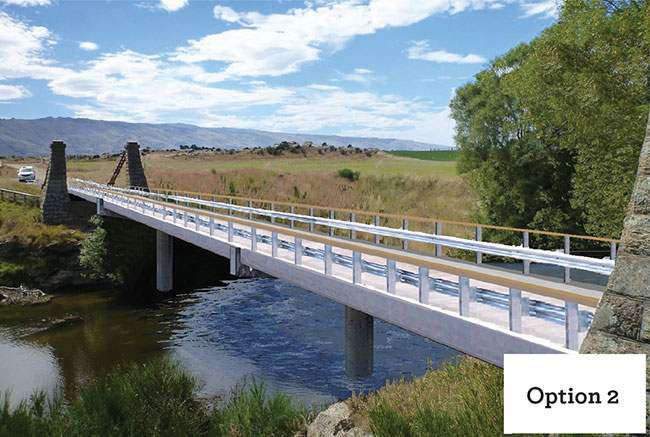 Sutton bridge project - Option 2