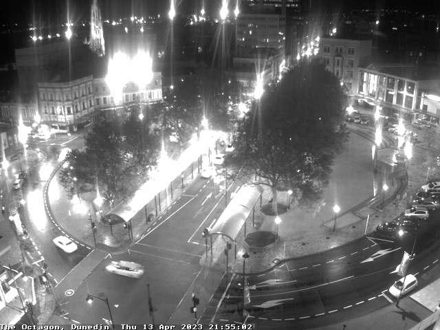 веб камера в новозеландском городе Дунедин