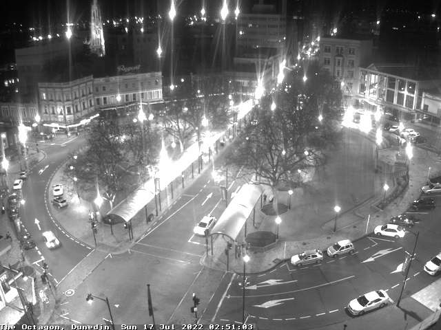 Webcam: Dunedin, Nuova Zelanda